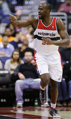 Emeka Okafor was the best defensive player for the Wizards during the 2012-13 season, his first year in Washington.
