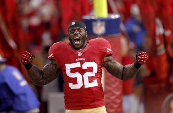 Patrick Willis is a leader of the 49ers' defense.