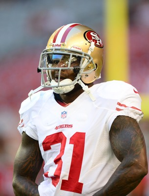 Donte Whitner will provide valuable experience to the 49ers' secondary.