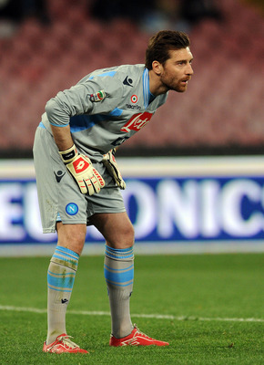 De Sanctis looks to be Roma's new No. 1