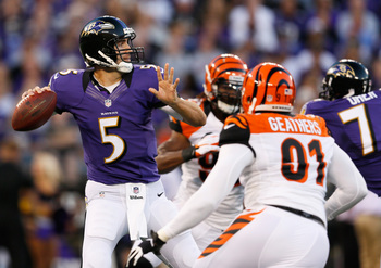 Wins the AFC North will give the Ravens the best shot at returning to the playoffs.
