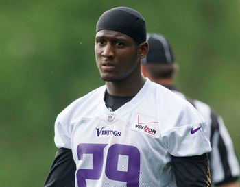 Minnesota expects first-round pick Xavier Rhodes to start across from Chris Cook as a rookie.