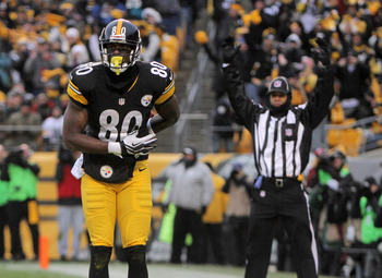 Burress is the closest thing to depth at wide receiver the Steelers have.