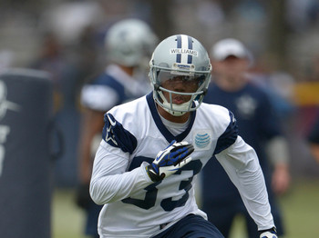 Wide receiver Terrance Williams.