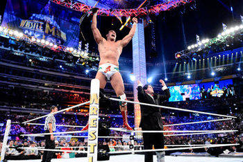 World Heavyweight Champion, Alberto Del Rio (Credit: WWE.com)