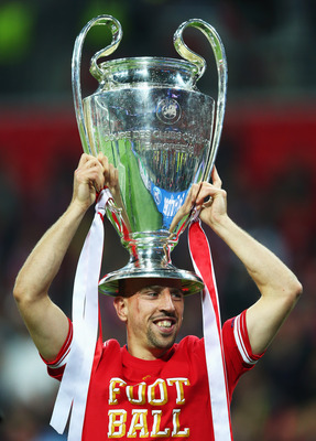 Ribery—won the treble with Bayern Munich last season.
