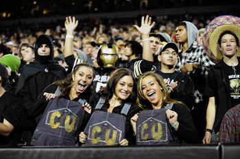 Colorado fans might not be smiling come kickoff as the Buffaloes have a tough non-conference schedule in 2013.