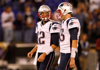 Tom Brady and Ryan Mallett