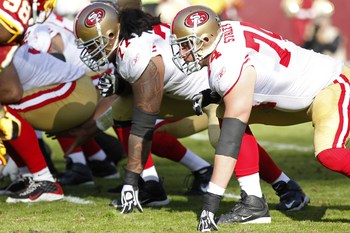 Mike Iupati and Joe Staley