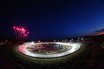 The grandstands at Eldora Speedway were filled to capacity for the inaugural Mudsummer Classic.
