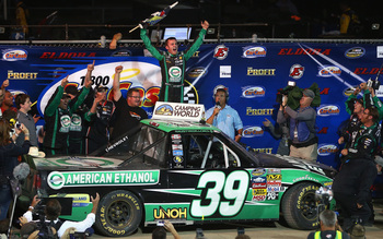 Austin Dillon's victory in the Mudsummer Classic had nothing to do with fuel mileage or tire choice, it was about out-driving the competition.