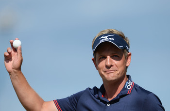 Luke Donald is still looking for his first major title.