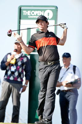 Rory McIlroy missed the cut at Muirfield in the Open Championship.