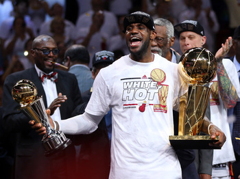 After winning two titles with small ball, LeBron James and the Heat aren't desperate for anyone.