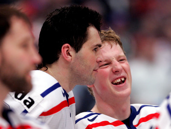 Ales Hemsky may see himself playing with Jaromir Jagr once again in Sochi.
