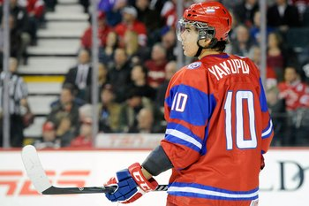 Yakupov will be a dark horse to make the host nation Russian team.