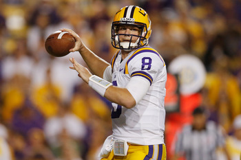 LSU senior quarterback Zach Mettenberger.