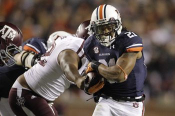 Auburn junior running back Tre Mason.