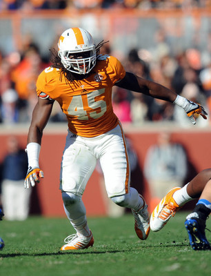 Tennessee junior linebacker A.J. Johnson.