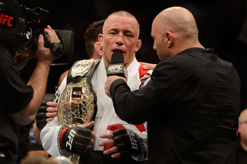 Georges St-Pierre will fight Johny Hendricks at UFC 167.