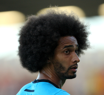 Benoit Assou-Ekotto during the 0-0 draw with Colchester United.