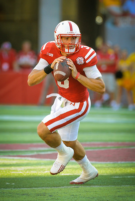 Nebraska senior quarterback Taylor Martinez.