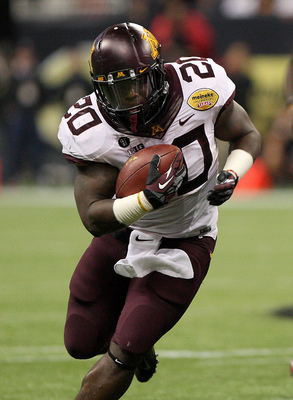 Minnesota junior running back Donnell Kirkwood.