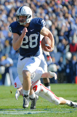 Penn State junior running back Zach Zwinak.