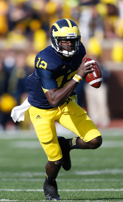 Michigan junior quarterback Devin Gardner.