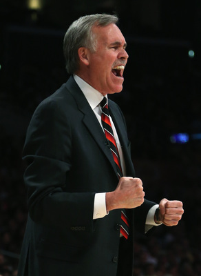 Head coach of the LA Lakers Mike D'Antoni