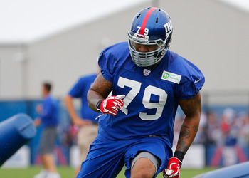 DE Damontre Moore look to get into the mix.