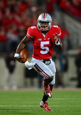 Ohio State junior quarterback Braxton Miller.