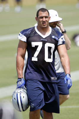 Defensive lineman Tyrone Crawford