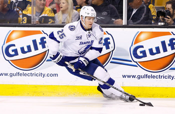 The Lightning expect Matt Carle to be a top-pair defenseman. His second season with the Bolts is a great time to exceed expectations.
