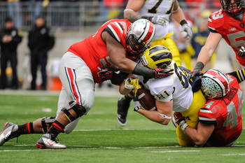 Michigan vs Ohio State in 2012.