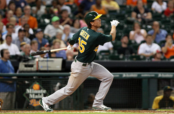 Time will tell if the A's gave up on Grant Green too soon.