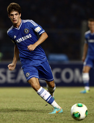 One for the future—Chelsea's Lucas Piazon.
