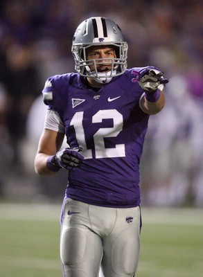 Kansas State senior strong safety Ty Zimmerman