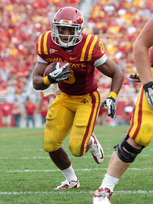 Iowa State senior running back James White