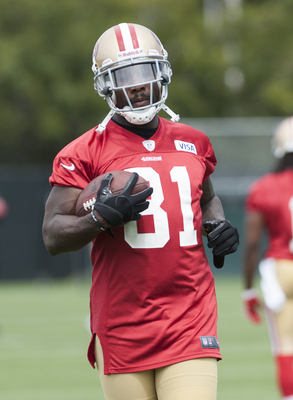 Anquan Boldin will be a mentor to the 49ers' young receivers.