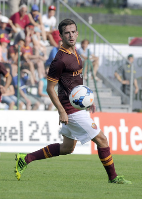 Miralem Pjanic in preseason action.