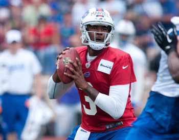 Can EJ Manuel seize the starting job in Buffalo?