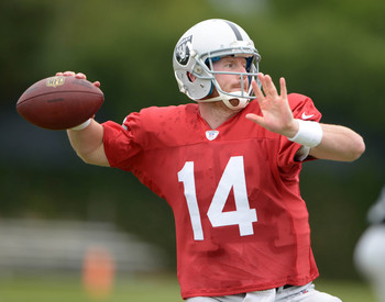 The Raiders have several questions to answer this preseason, including who will play quarterback.