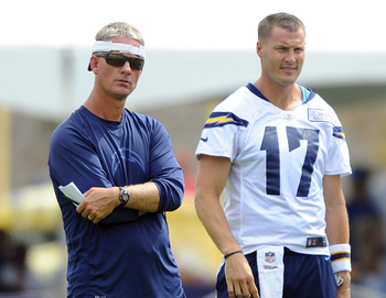 The Chargers will have a new offensive philosophy in 2013.