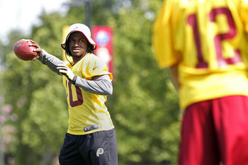Robert Griffin's health could determine the Redskins' chances in the NFC East this season.