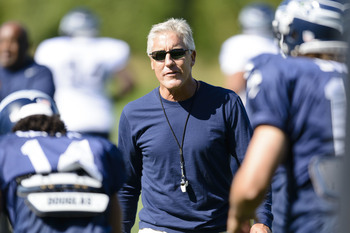 Head coach Pete Carroll is building a winner in Seattle.