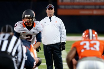 Tim Beckman is pulling out all stops, including JUCO players, to turn the Illini around