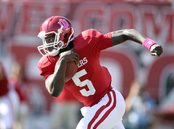 Indiana brings back ugly helmets AND their best quarterback in 2013