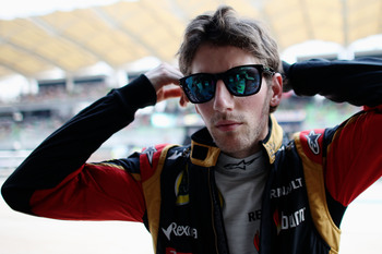 Grosjean is rapid, but frustratingly inconsistent
