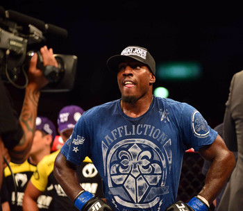 Phil Davis has become a top light heavyweight